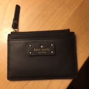 Kate Spade leather card case wallet